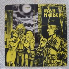 "IRON MAIDEN ""WOMEN IN UNIFORM"" 45GG 7"" RARE ITALIAN EDITION INCL COVER 3C006-07"