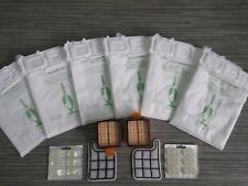 Vorwerk folletto vk 135 136 kit 12 sacchetti 12 profumi 4 filtri