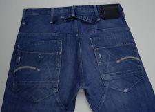 EUC RRP $289 Mens G-Star Raw 'BLADE PANT ORIGINAL' Medium Aged Jeans W31 L34