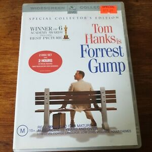 Forrest Gump DVD R4 Like New! FREE POST