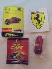 """DIE CAST FERRARI MICRO CARS """" 250 GTO - 1962 """" USCITA N° 3 1/100 KYOSHO"""