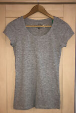 LOGG H&M Pale Grey Organic Cotton T Shirt Small BNWT