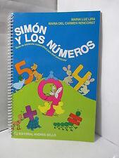 SIMON Y LOS NUMEROS TEXTO DE INICIACION MATEMATICA PARA NIVEL PREESCOLAR