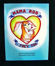 NEW Childrens Early Reader Book MAMA ROO & JOEY TOO Kangaroo ILLUS Learn to Read