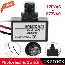 Photoelectric Photocell Photo Sensor Control Automatic Switch Button Flush Mount