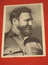 1953 Cuba Leader Communist Party Fidel Castro Unposted postcard Soviet Russian