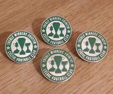 More details for celtic quadruple treble winners 2017 2018 2019 2020 pin badges set of four gift