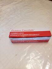 Premiere Essentials Combo Single Cylinder Deadbol/ Hudson Knob Oil Rubbed Bronze