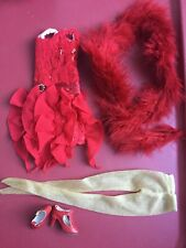 """Tonner DEJA VU 16"""" RED HOT Fashion Doll Clothes Outfit PIECES - NOT COMPLETE"""