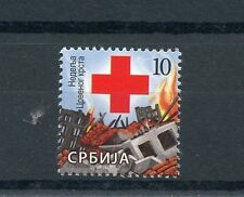 Serbia 2015 MNH Red Cross 1v Set Medical Health Burning Houses