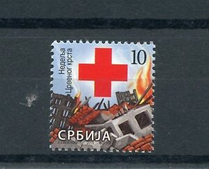Serbia 2015 MNH Red Cross 1v Set Medical Health Burning Houses