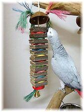 Papageienspielzeug, BIG BEN, Naturholz, Glockenspaß, Knabberspaß **TOLLER SPAß**