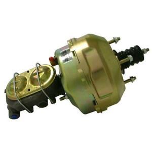 "Tuff Stuff Brake Booster/Master Cylinder Set 2129NB; Gold Zinc 9"" Dual Diaphragm"