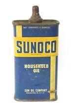 SUNOCO - LEAD TOP - HOUSEHOLD OIL TIN CAN - SUN OIL COMPANY