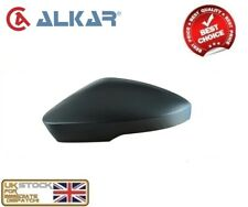 SKODA OCTAVIA (5E) 2013-2018 WING MIRROR COVER CAP BLACK LEFT N/S