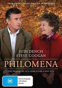 DVD PHILOMENA 2013 JUDI DENCH BRAND NEW UNSEALED REGION 4 FAST POST
