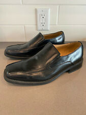 Men's Zengara Men's 10M Black Dress Shoes Stock #Z301661 Size 10 M