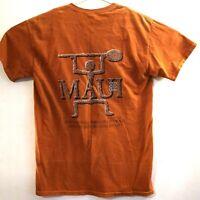 Original Red Dirt Shirt Kauai Hawaii T-Shirt Lava Rock Dust, Medium