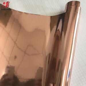 Rose Gold Vinyl Decal Adhesive Sticker Car/Wall/Laptop/Window Decor for Cricut