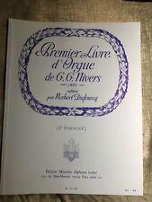 G. G. Nivers Premier livre d'orgue Fascicule 1 Dufourcq partition éditions Leduc