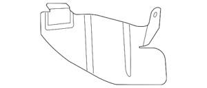 Genuine GM Shield-Spa Whl Ht 23149246