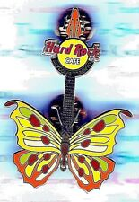 HRC Hard Rock Cafe Toronto Skydome Tattoo Butterfly Guitar 2004 Pin LE NEW