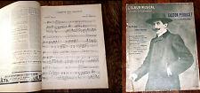 Gaston Perducet ses 10 plus célèbres chansons partition l'Album Musical 1905