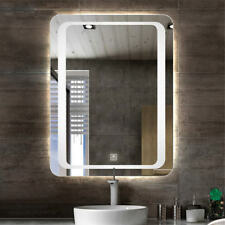"28"" LED Lighted Backlit Bathroom Wall Mirror, Anti-fog,3 Brightness,Touch Switch"