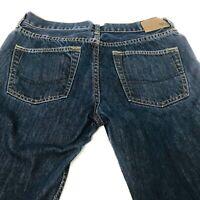 Bullhead Size 32X34 Skinny Dillon Mens Dark Denim Wash Jeans