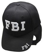 FBI Federal Bureau of Investigation Embroidered Cap Hat RAM
