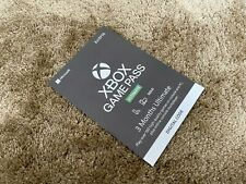 Microsoft Xbox Game Pass 3 Months Ultimate Gaming Card - Delivered