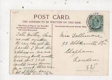 Miss Dallimore Abbeville Road Clapham London SW 1904  787a