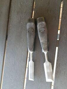 2 Sandvik of sweden chisels - Made in Holland