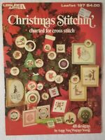 CHRISTMAS STITCHIN' 48 Designs Charted for Cross Stitch 1981 Leisure Arts 197