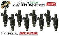 YRS 93-98 BMW 740iL 4.0//4.4L V8 MP#D3763FA Reman 1pack Fuel Injector OEM Lucas