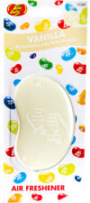 15260 Jelly Belly VANILLA 3D Bean Air Freshener Car (x1) Hanging Gel Type