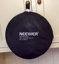 Neewer 5 in 1 collapsible multi-disc 110cm light reflector in carry case