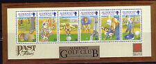 Alderney 2001   Golfclub  blok 10    postris/mnh