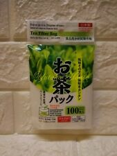Daiso Empty Tea Bag  (100 pcs) Filter Bags for Tea  x 10 packs - Made In Japan