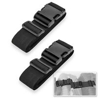 Pack of 2 Add-A-Bag Luggage Strap, Adjustable Suitcase Straps Belt for Travel