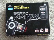 2011 Rockstar MAYHEM Tour VIP Camcorder NO RESERVE megadeth disturbed