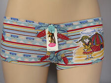 Pattern Glitter Briefs Shorts Boxers Assorted Colours L Turquiose