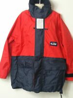 BOYS GILL NAVY & RED PADDED HOODED COAT JACKET KIDS AGE 8-9 YEARS