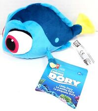 "FINDING DORY LITTLE BEAN BAG 6.5"" PLUSH TOY BANDAI BLUE TANG FISH STUFFED ANIMAL"