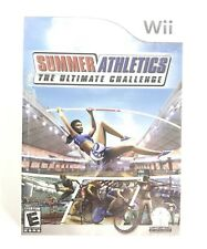 Summer Athletics The Ultimate Challenge Nintendo Wii Sports Multiplayer Sealed