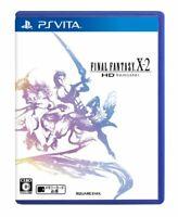 USED PS VITA PSV Final Fantasy X2 Hd Remaster 08075 Japan Import
