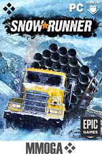 SnowRunner Key - Epic Games - PC Spiel Download Code Neu - Fahrspiel - DE/EU