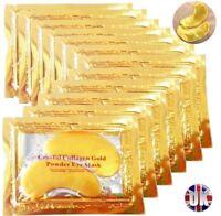 10 x Collagen Eye Mask Anti Wrinkle Ageing Crystal Eyelid Patch Pad Moisturiser