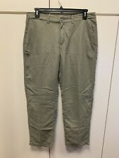 New listing REI Co-op Adventures Hiking Pants Mens  36x32 Army Green 100 % Nylon Shell
