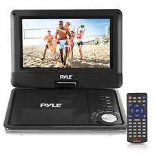 Pyle PDV905BK 9'' Portable DVD Player, Rechargeable Battery, USB/SD Card